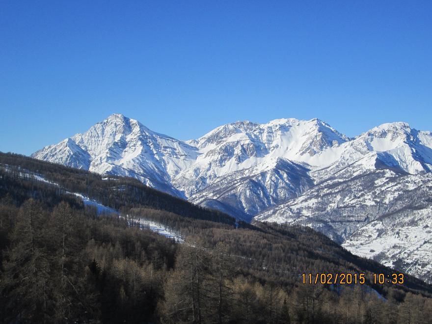 panorama sullo Chaberton e dintorni