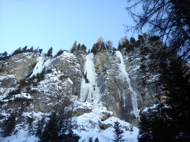 La cascata...al centro