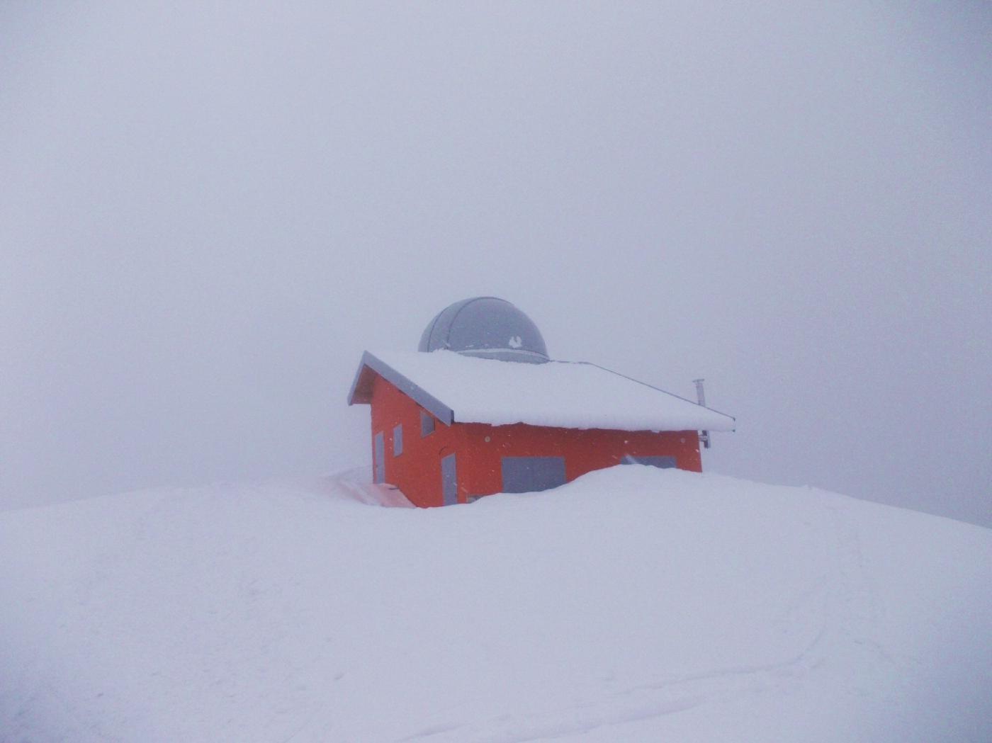 L'osservatorio astronomico a Sella Morteis