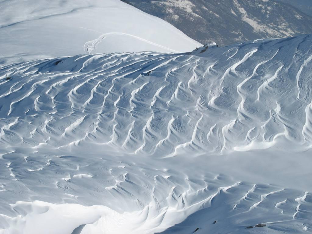 effetto vento nel vallone laterale