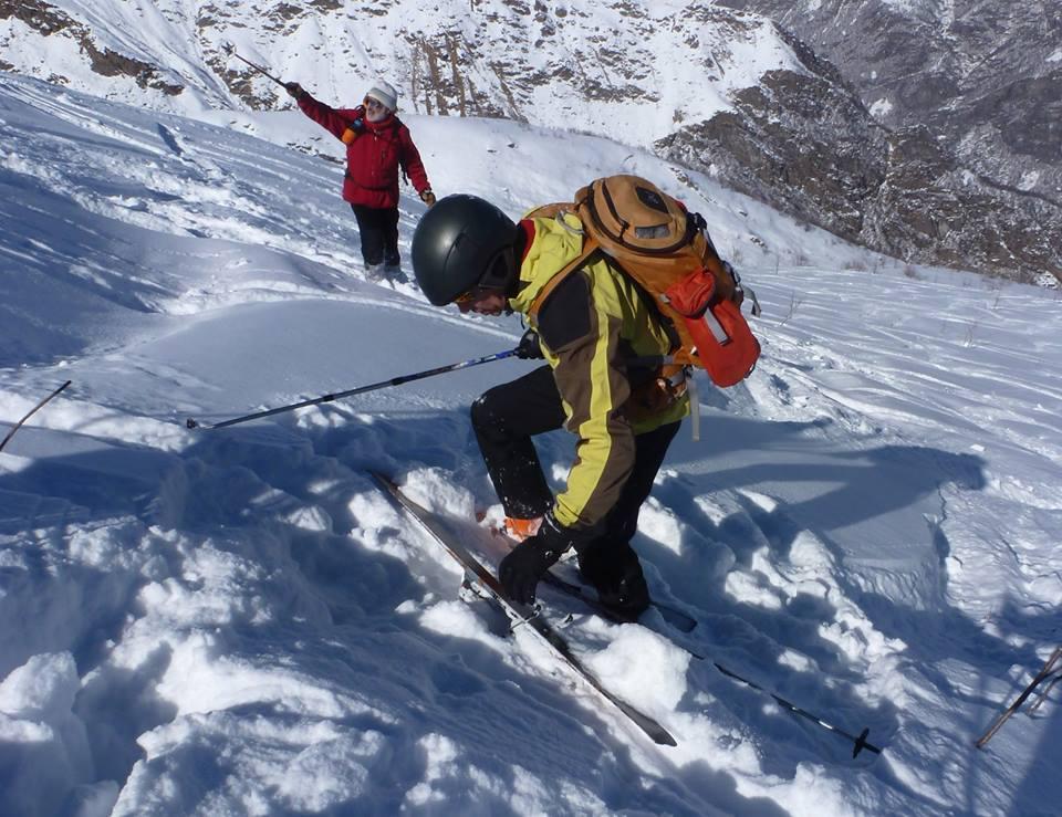 alla disperata ricerca dello sci...