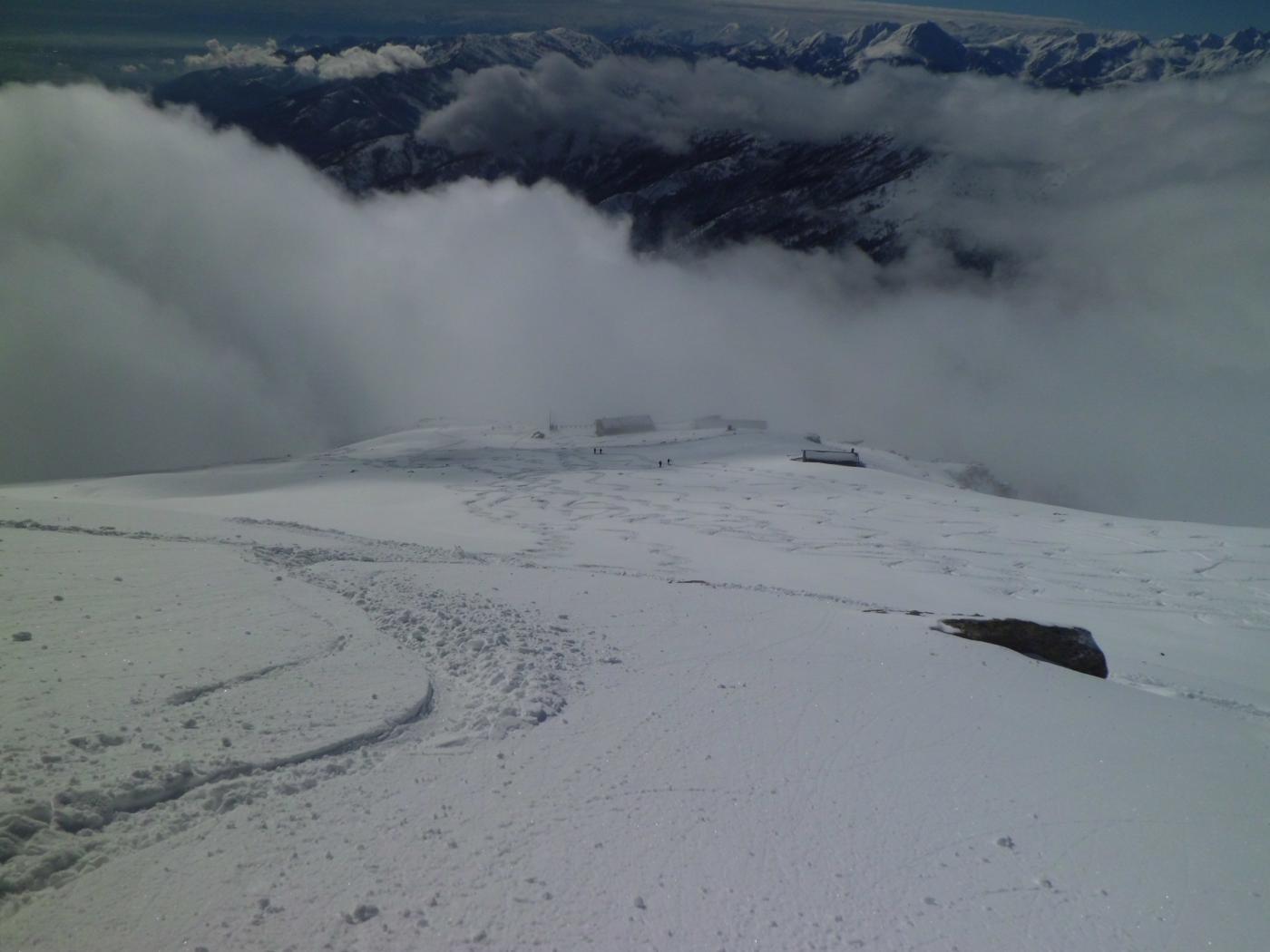 Veduta verso l'alpe Soglia