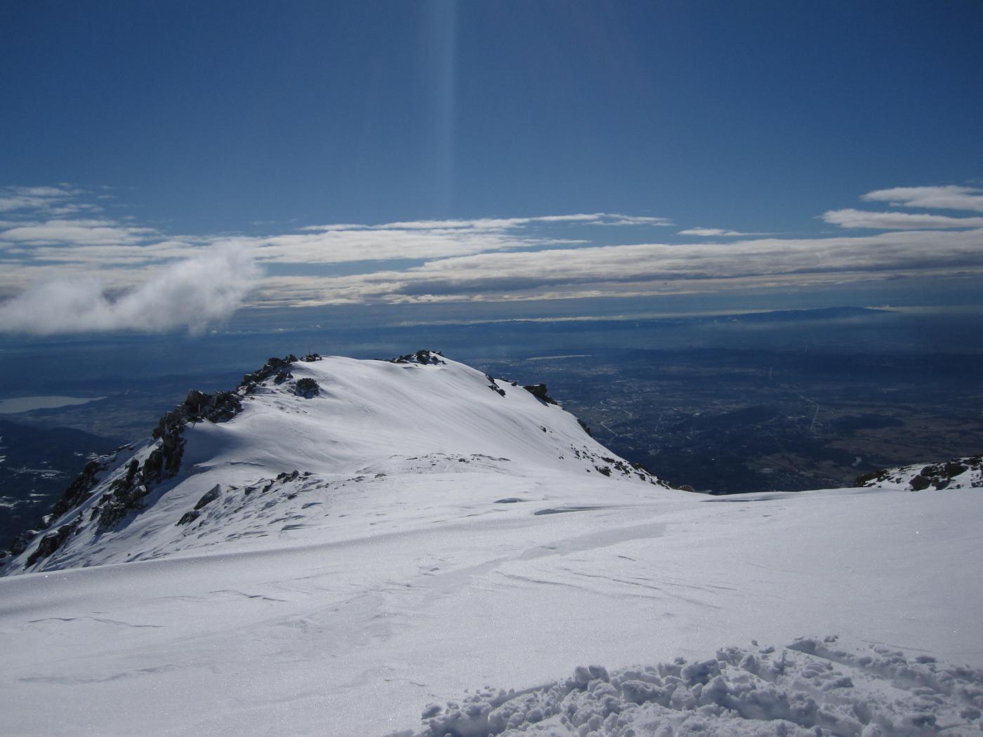 il Canavese dalla cima