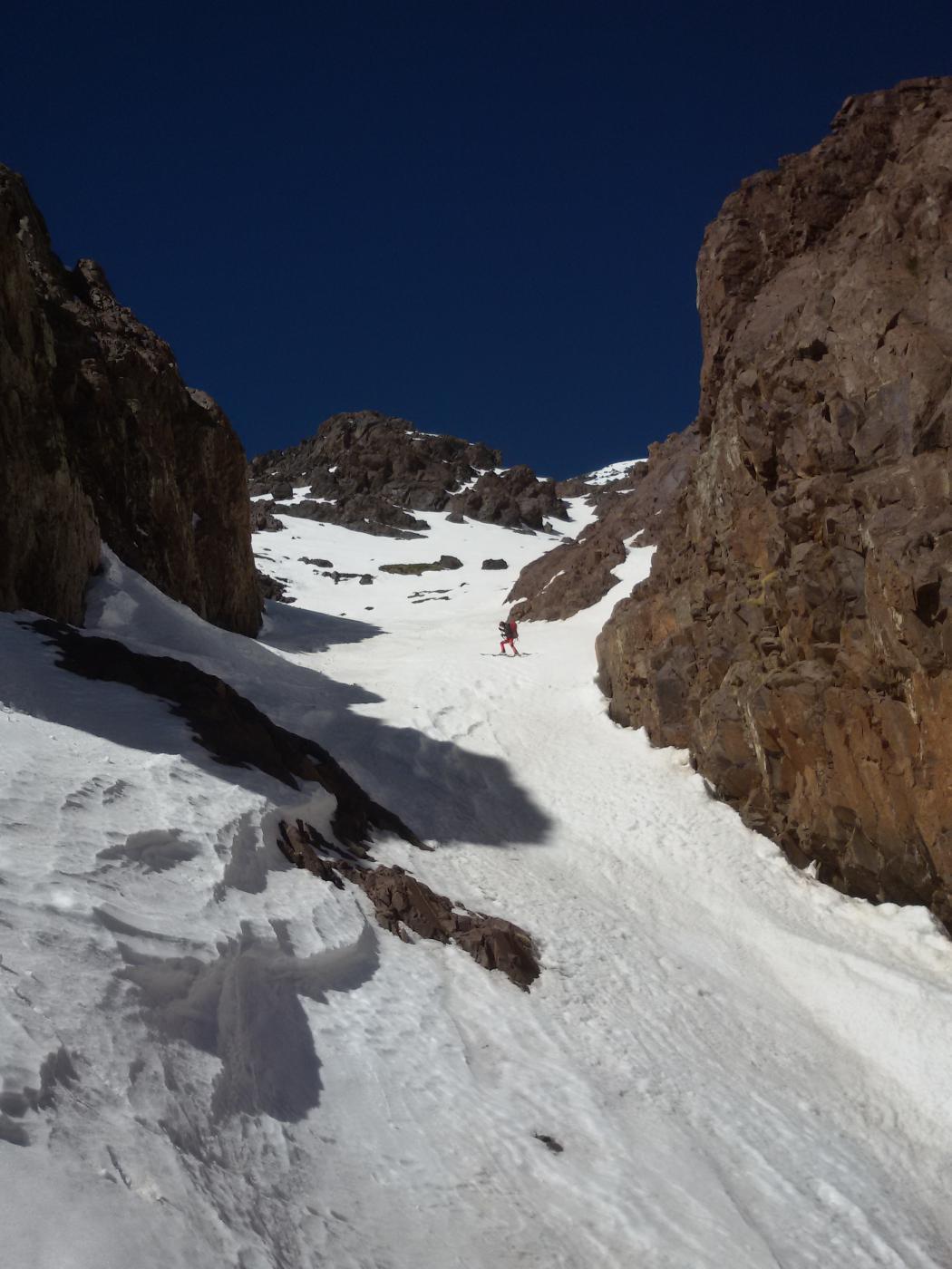 Jebel Aguelzim parete SE 2015-02-26