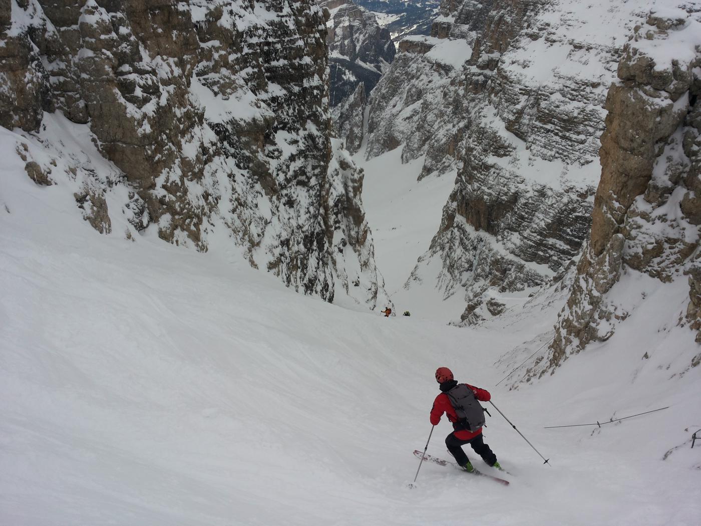 Traversata Val Lasties Val de Mesdì 2015-02-28