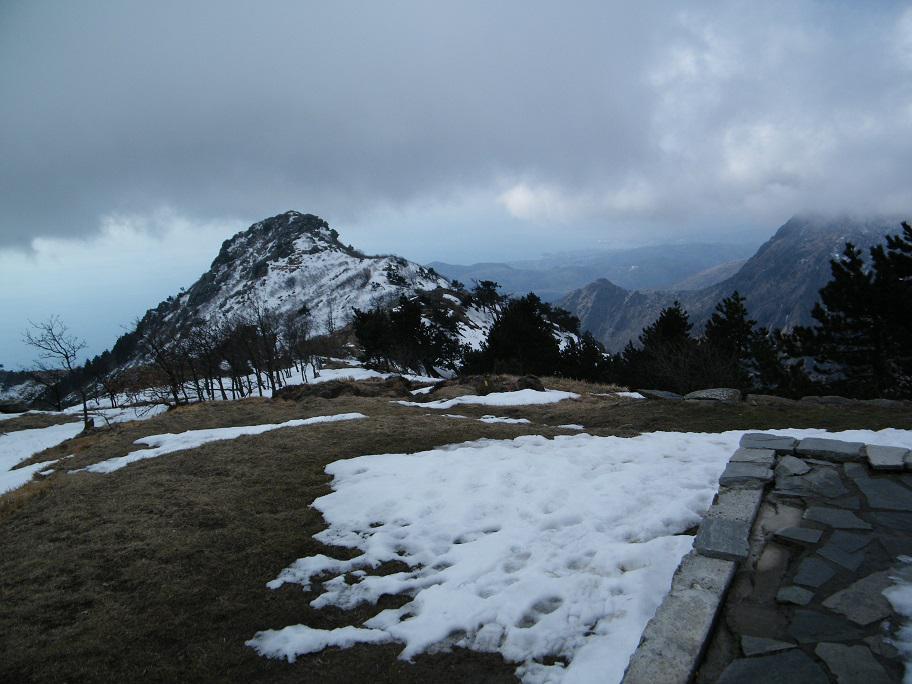 Il Monte Argentea visto dal Rifugio
