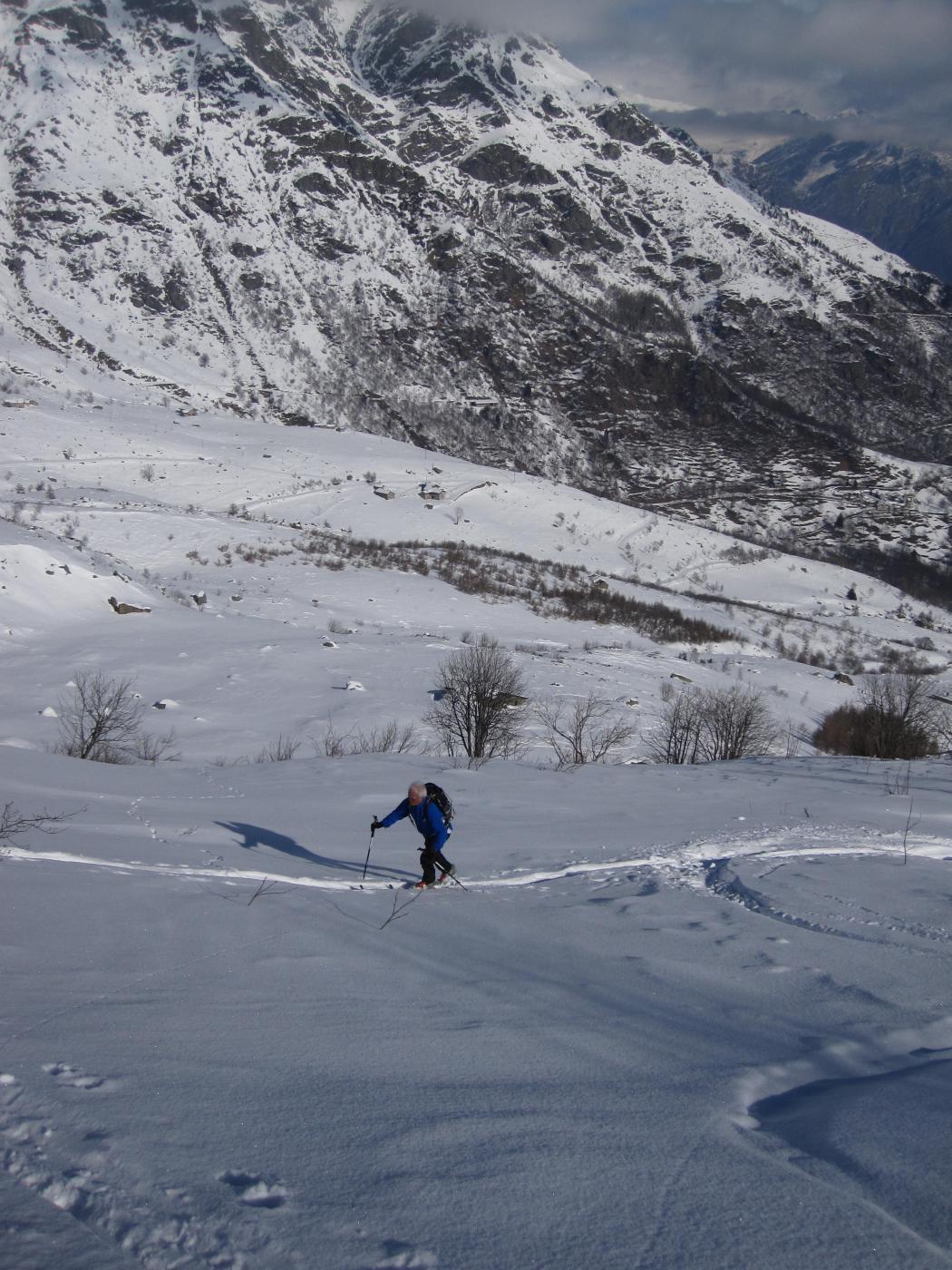 sopra l'alpe Cavanne
