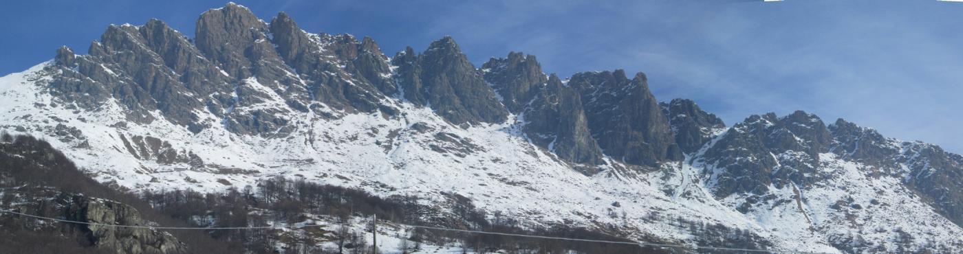panorama di Rocca Moross