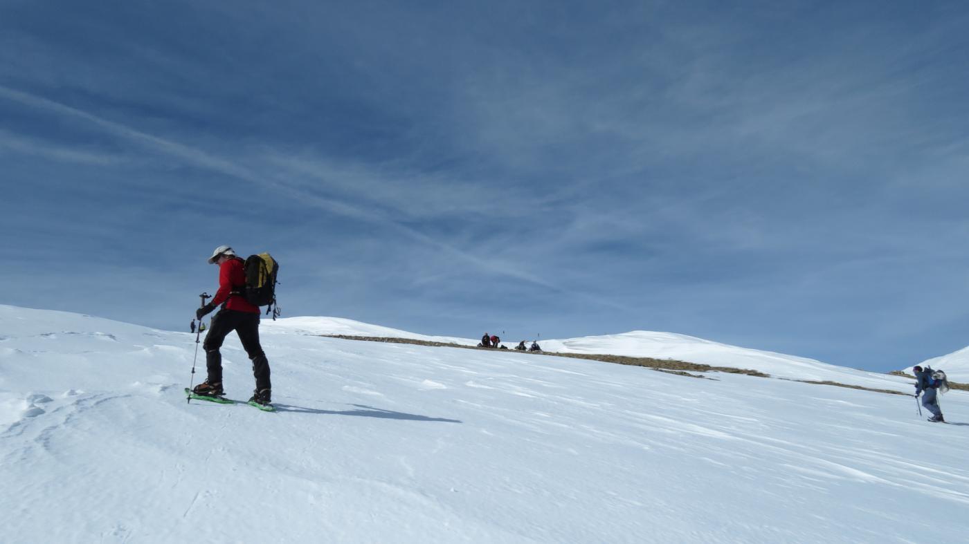 a pochi minuti dalla cima del Maderhorn