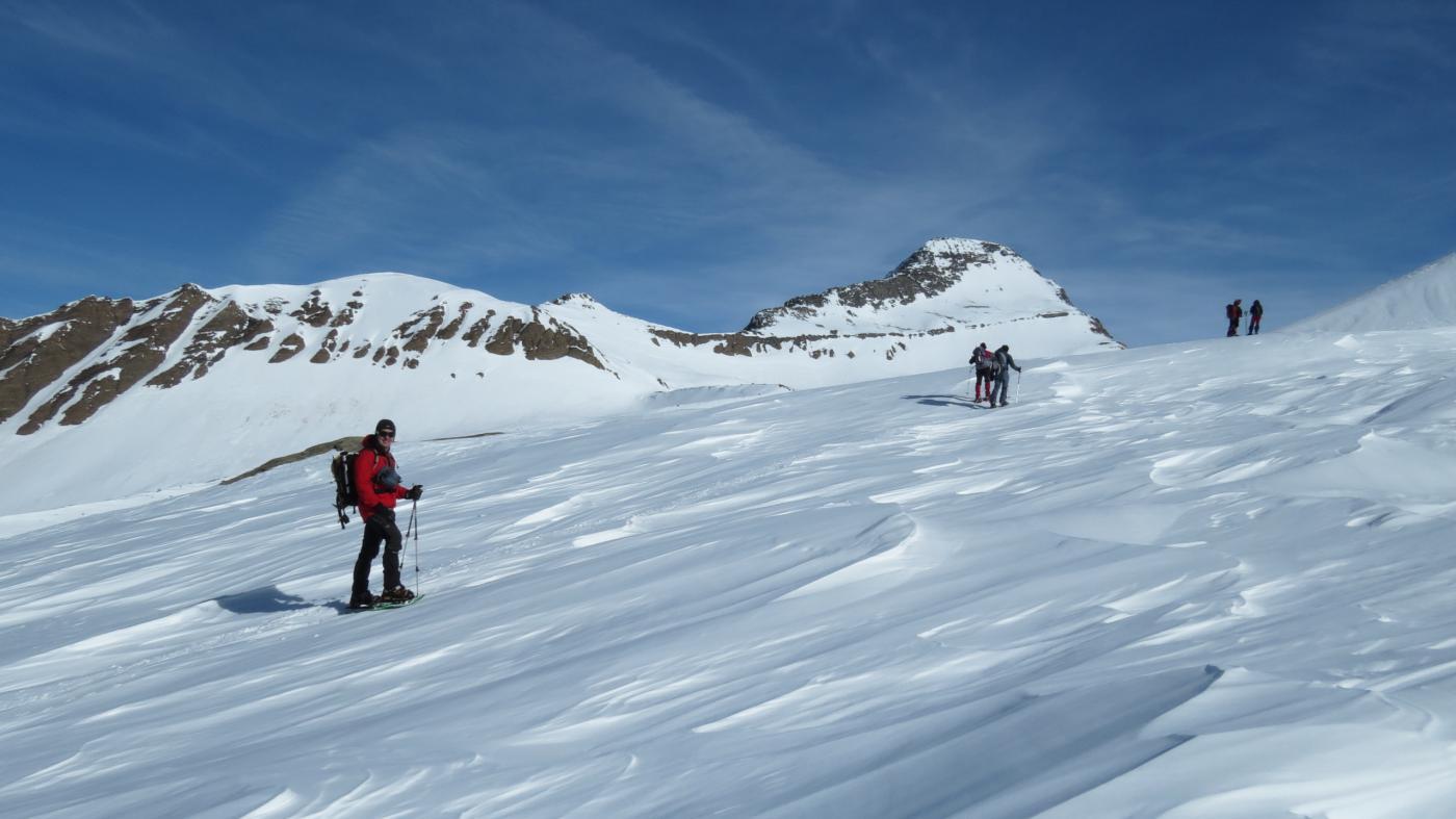 risalendo il vallone Chalti-Wassertalli