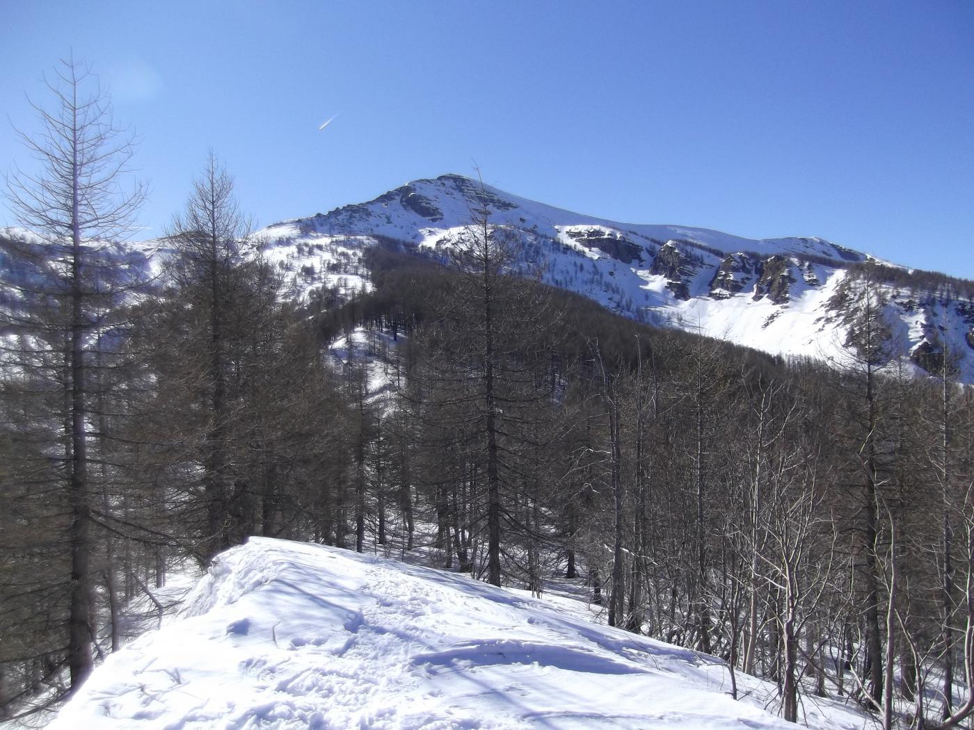 il Monte Bertrand dal Poggio Lagone