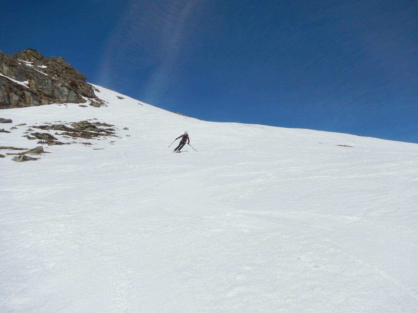 una serie di dossi ideali per lo sci