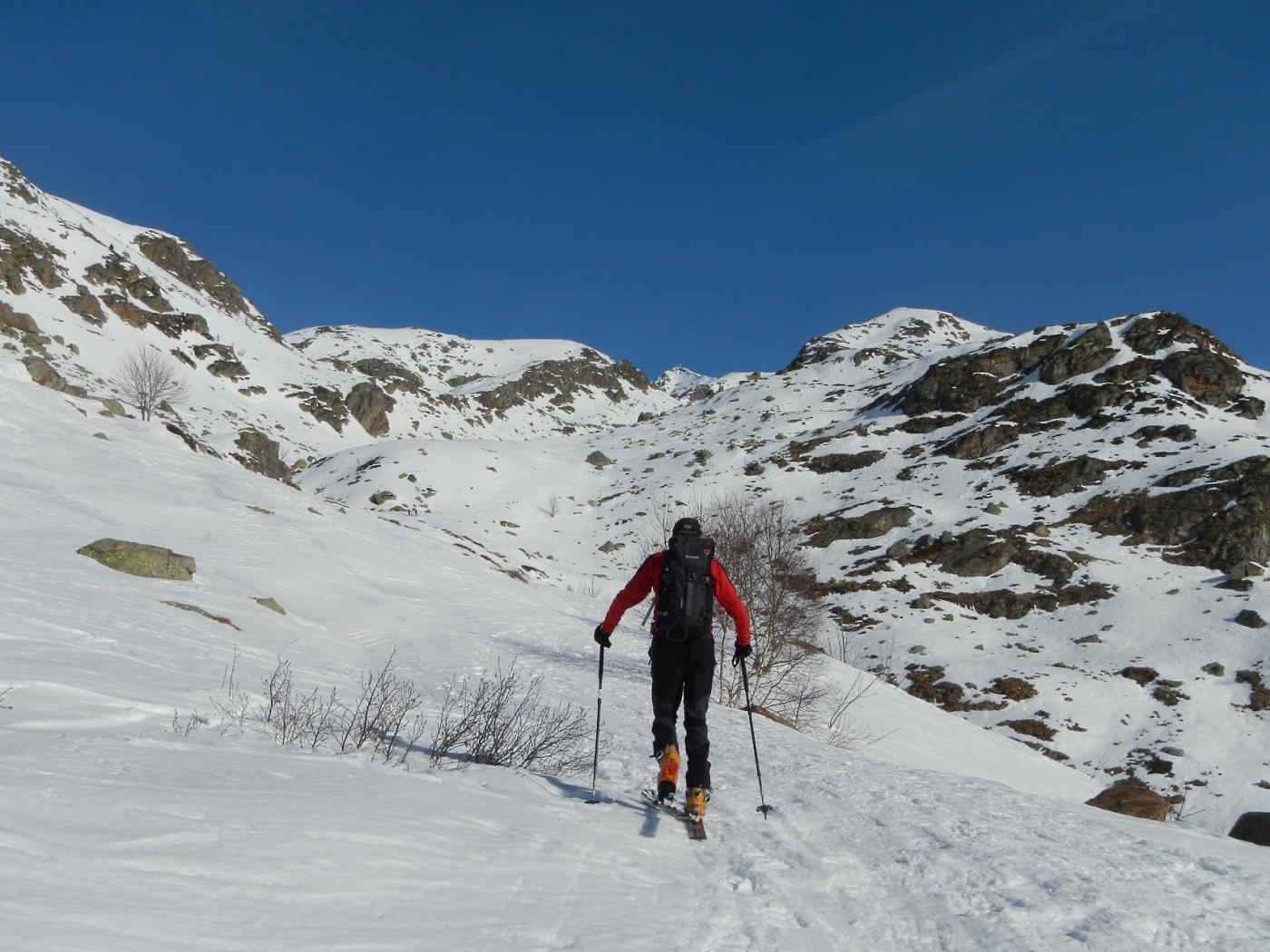 poco oltre l'Alpe Pinalba 1583 m.