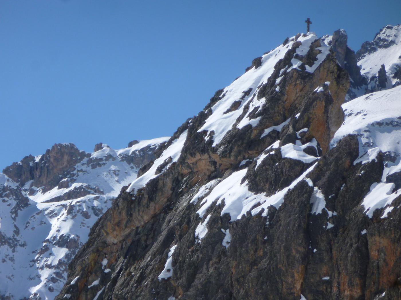 la croce della Rocca Provenzale
