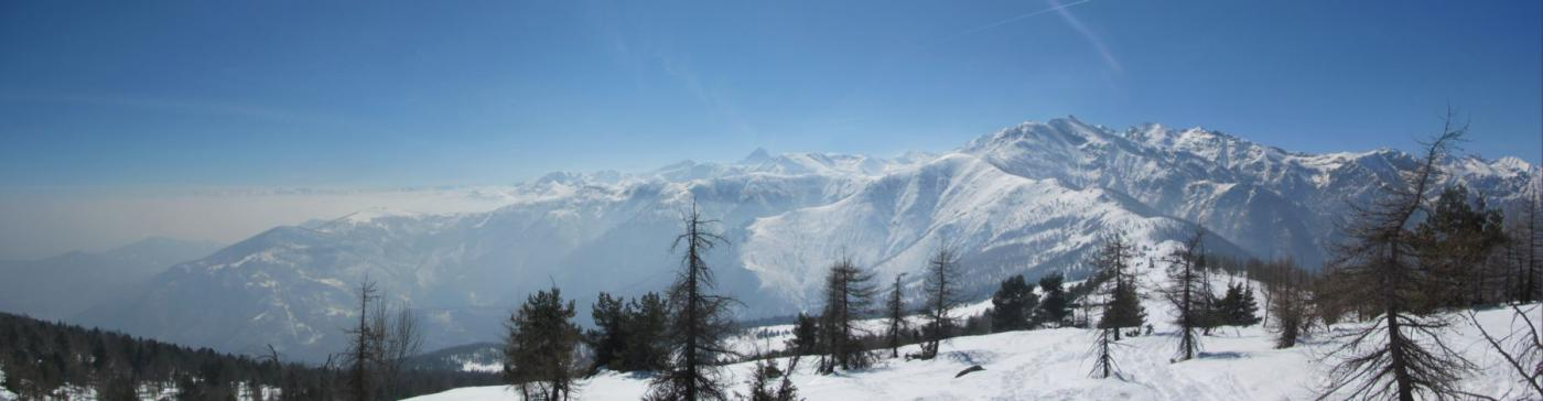 Panorama dal Truc Lausa