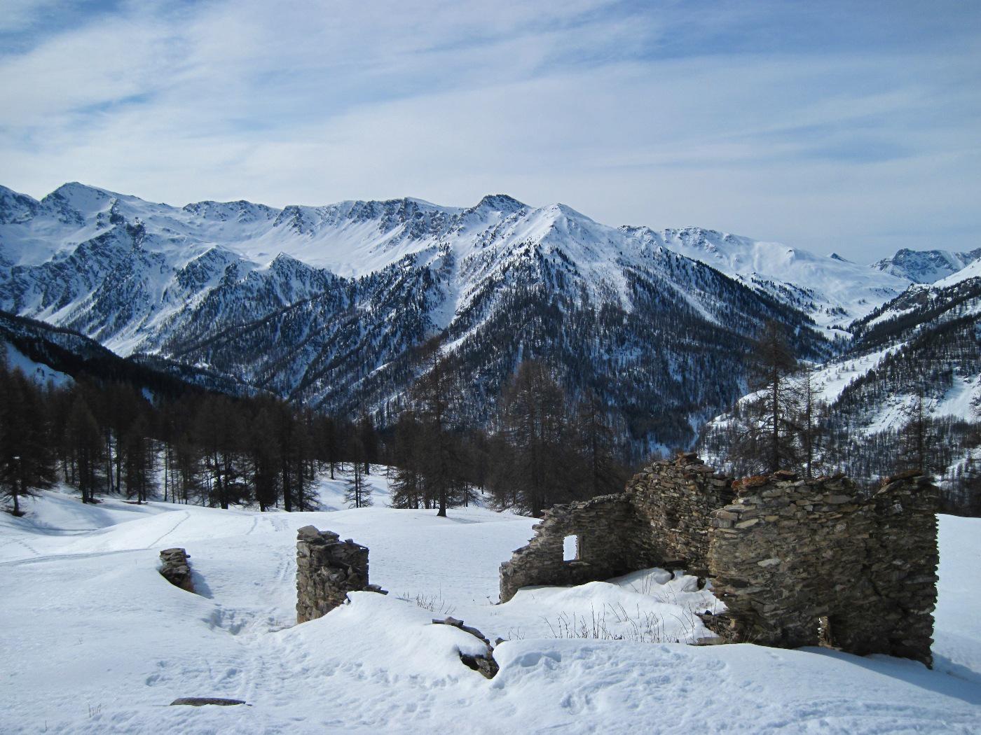 Panorama sul Giassez