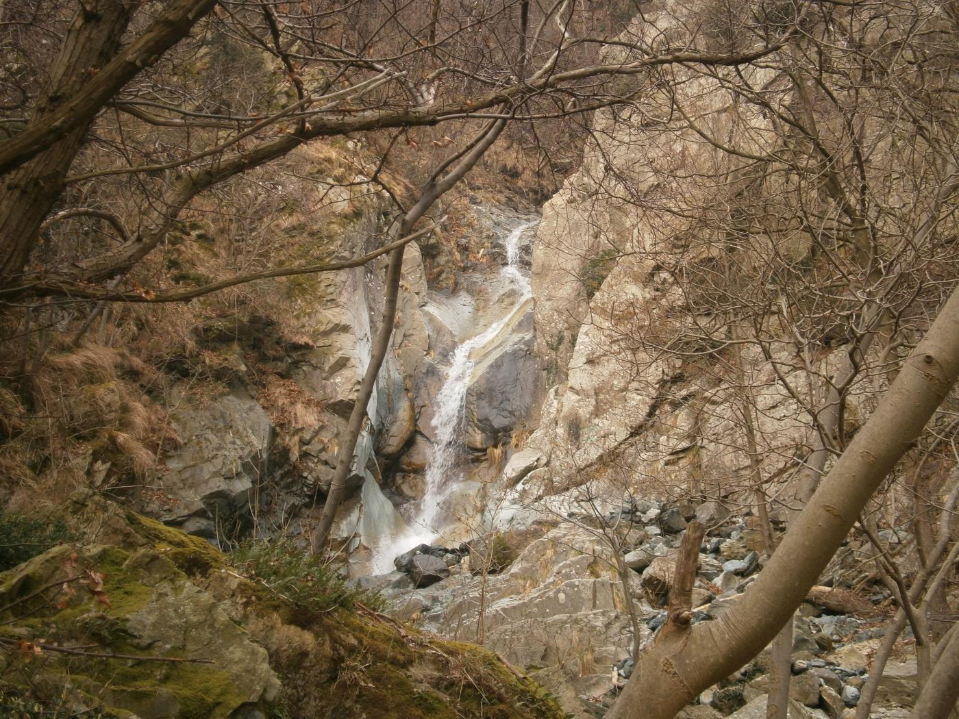 cascata prima del guado