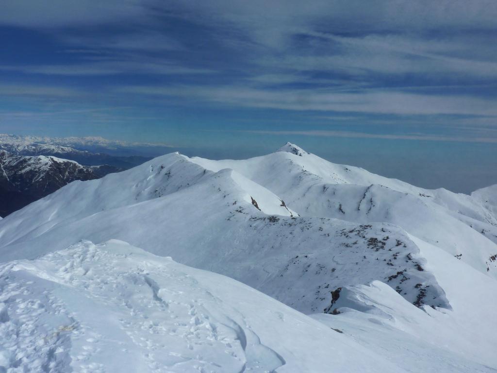 sguardo verso il monte Frioland