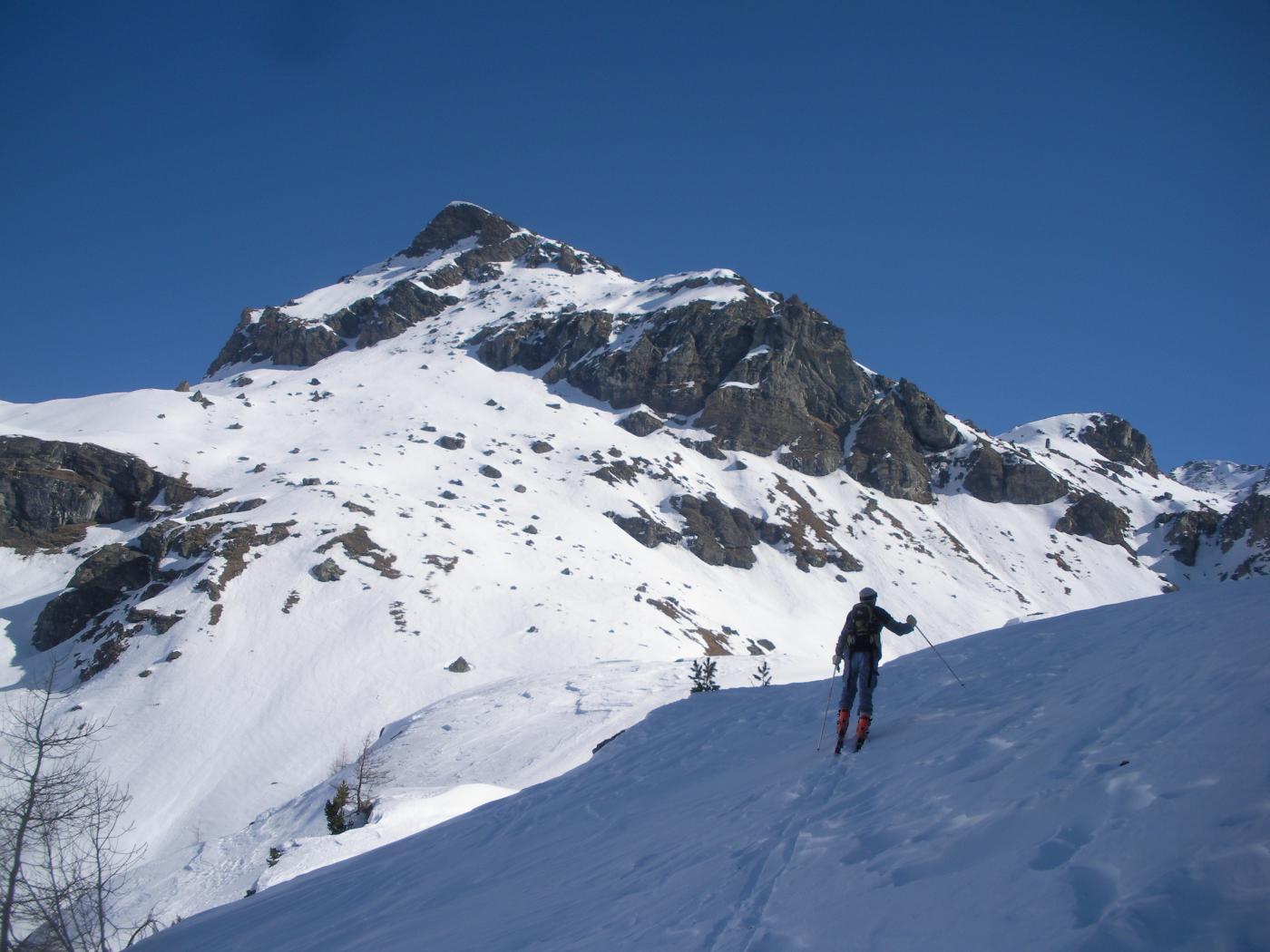 Il Perrin dall'alto vallone di Mascognaz..