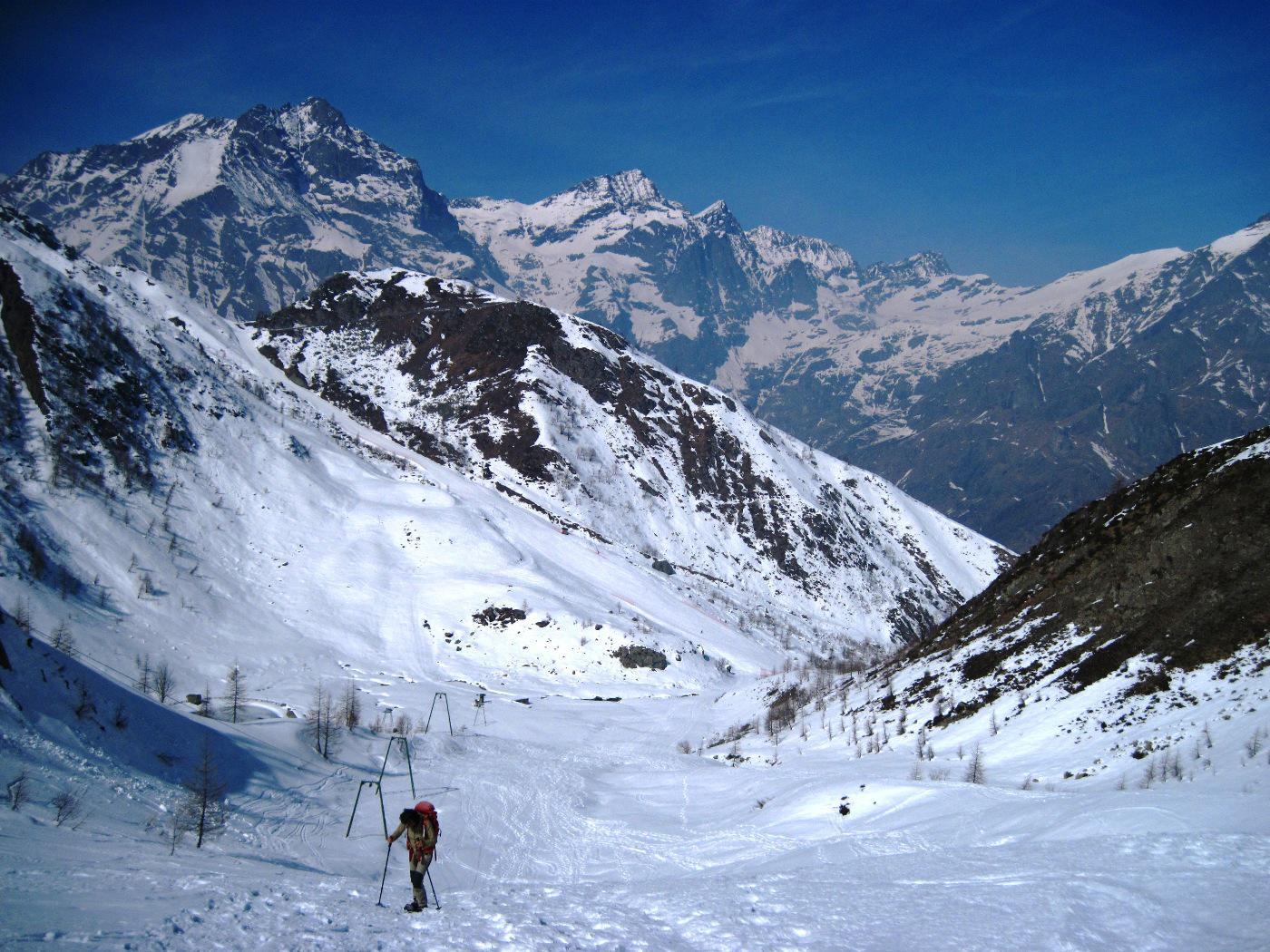 Grande panorama sulle vette delle valli di Lanzo