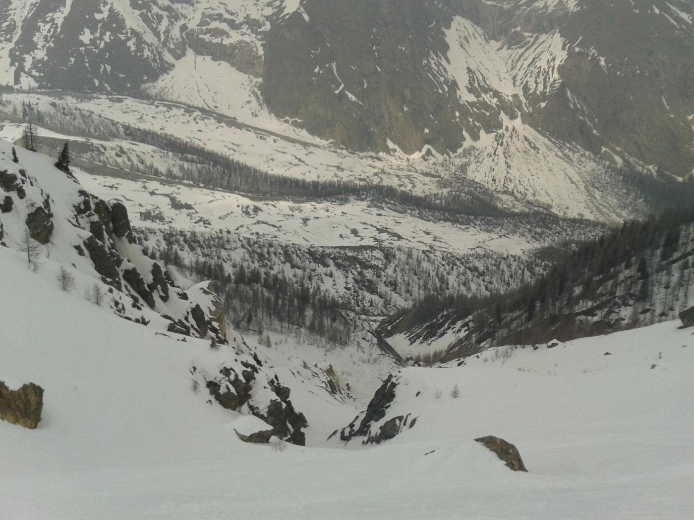 Nix (Mont) da Dolonne - anello vallone d'Arp e Val Veny 2015-03-14
