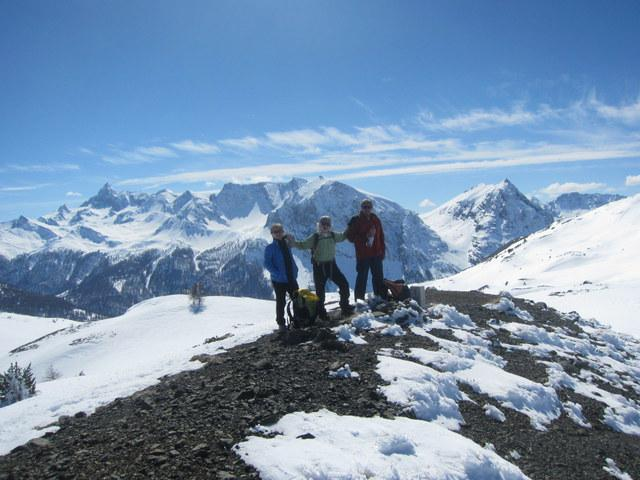 vetta del montrucchio con Pic de Rochebrune sullo sfondo