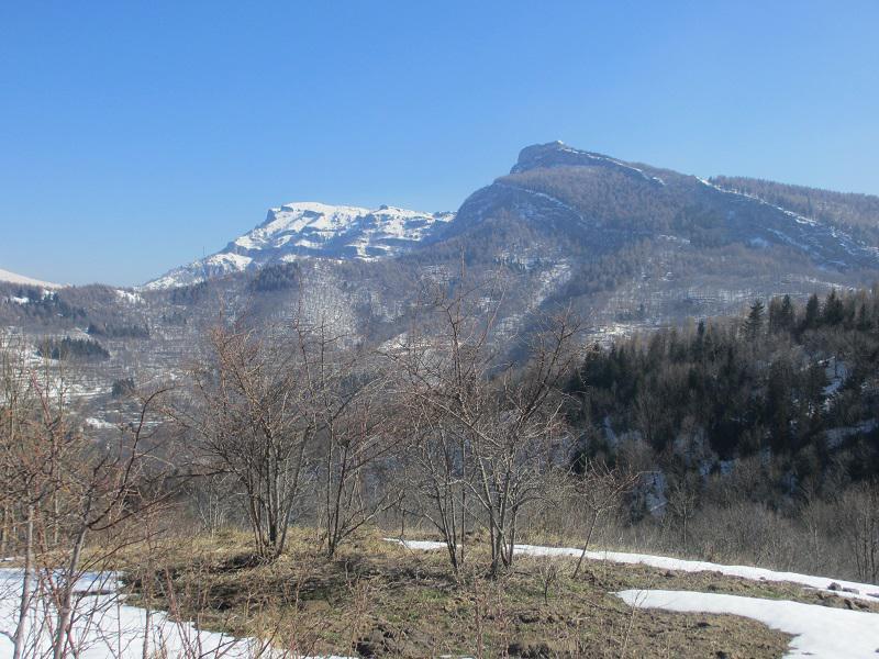 Tramontina (Rocca) da Armo per Monte Ariolo, Bric Castagnino e Rocca delle Penne 2015-03-19