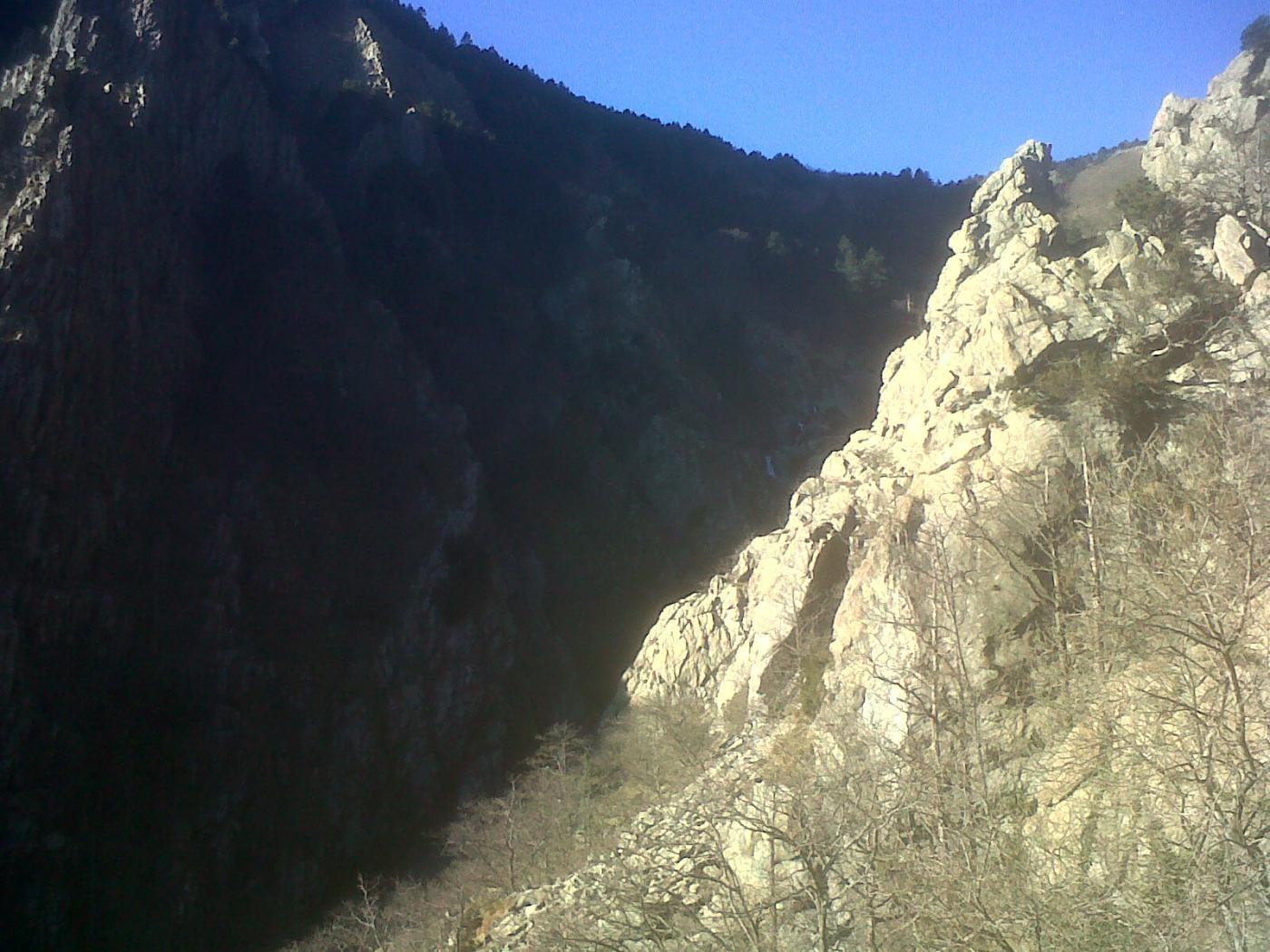Spigolo sud-ovest del campaniletto di Val Carbunea