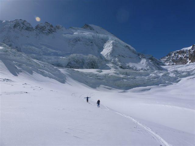 Sul ghiacciaio Tiefmatten-Zmutt