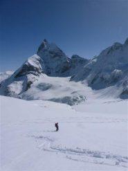 Discesa su ghiacciaio Stockj e Tiefmatten