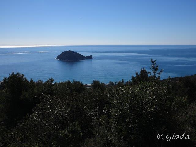 L'Isola Gallinara da sopra Albenga