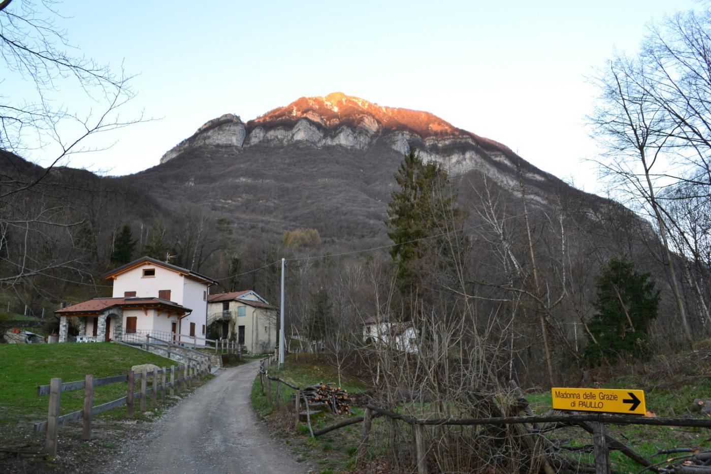 il Monte Crocione visto dalla Madonna delle Grazie