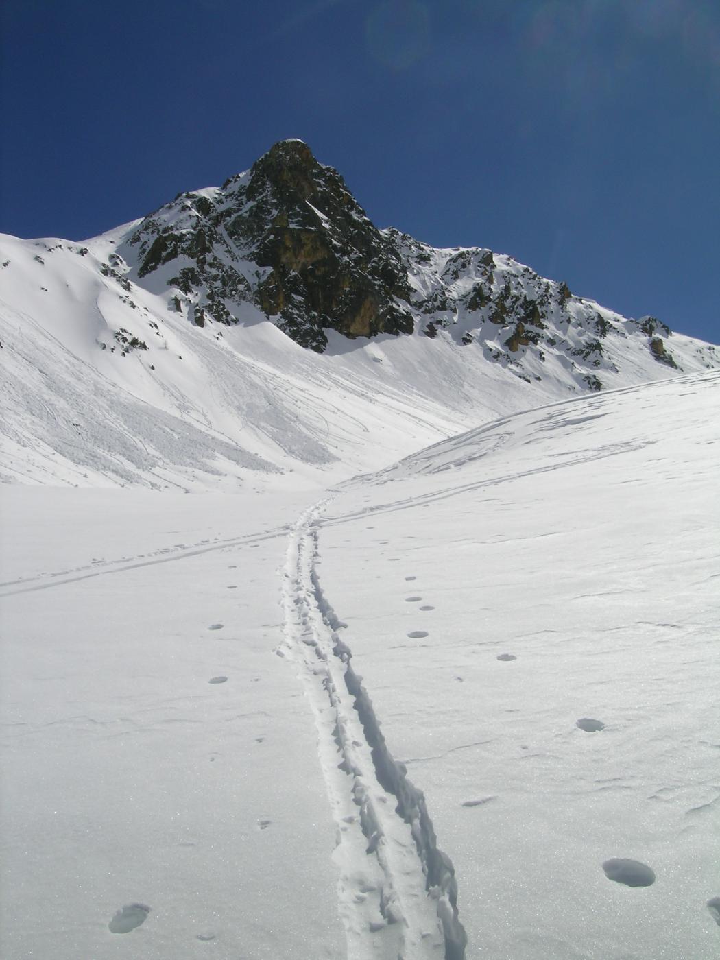 il versante NO della Rocca Verde