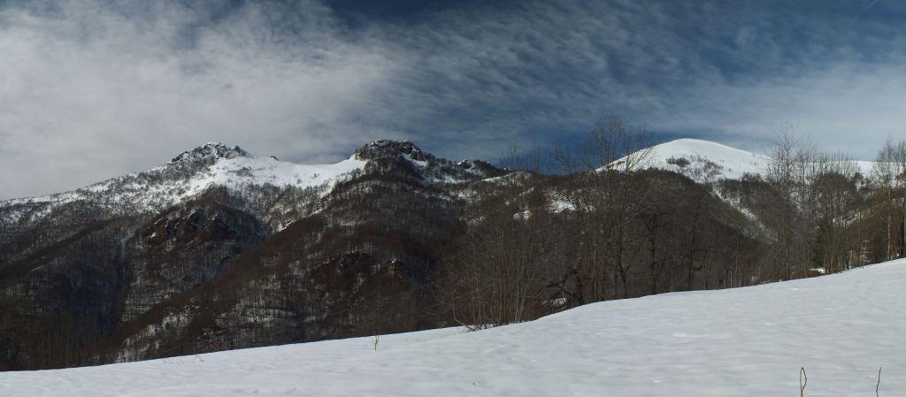 Tagliarè, Rocciaia e l'Alpe a destra