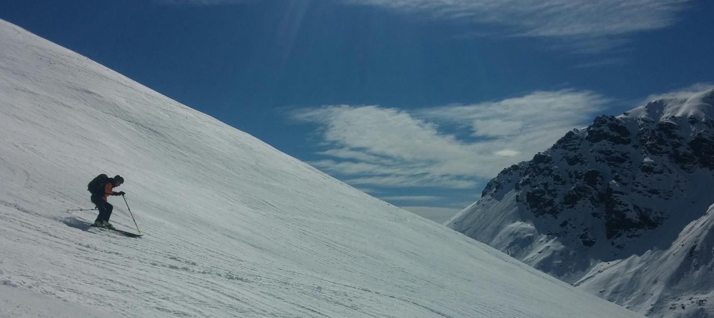 parte bassa con ottima neve
