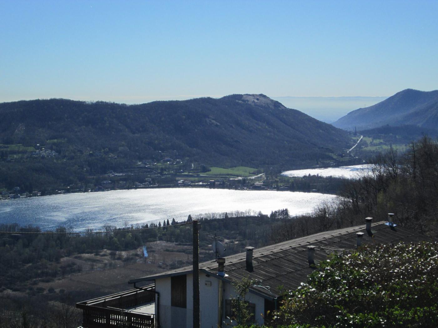 laghi di Avigliana ripresi a Mortera