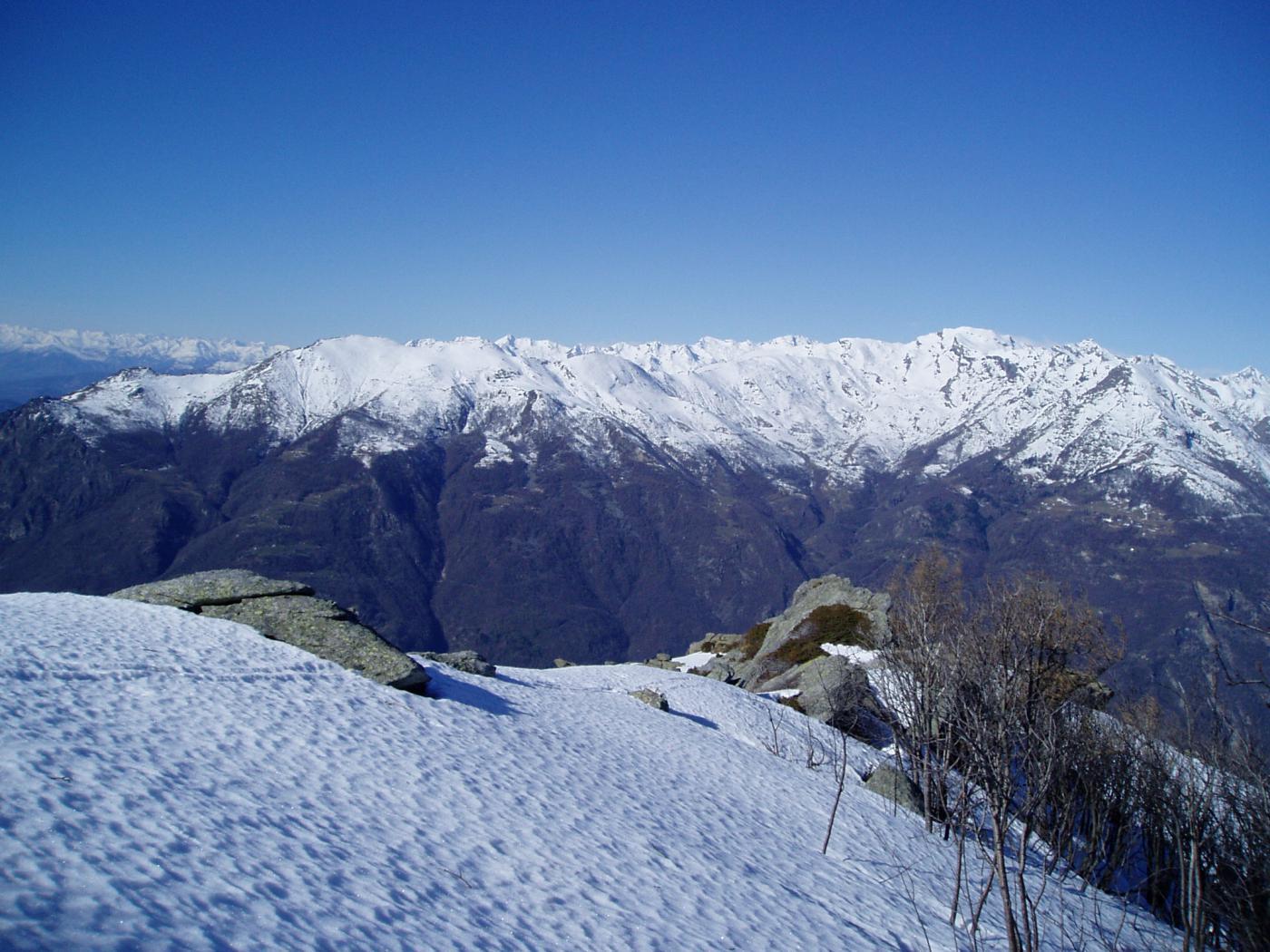 vista vallone della Bonze