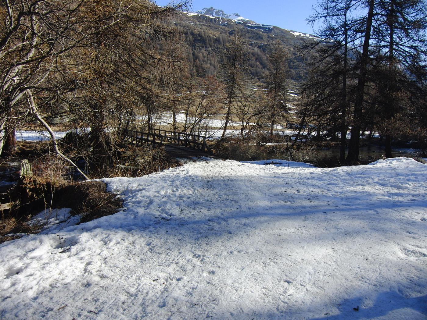 Neve dal Pont du Rately
