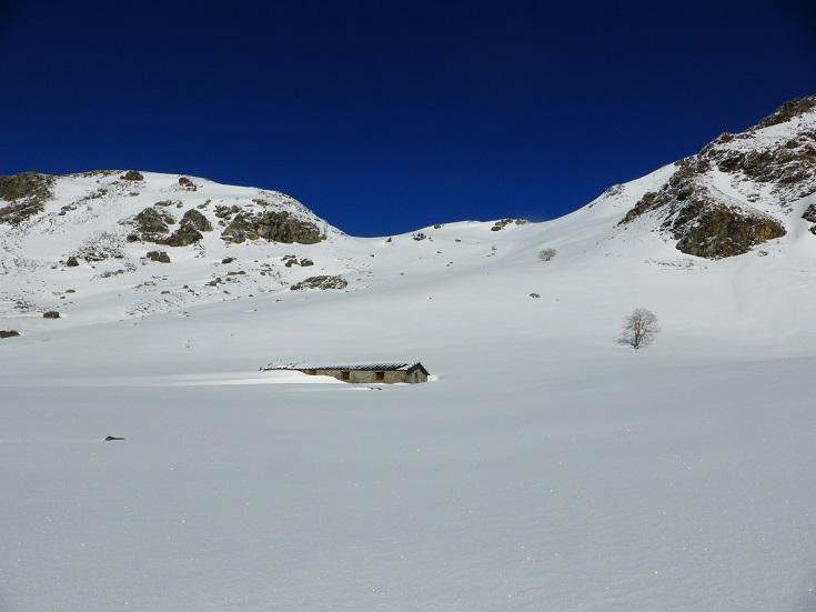 colle di accesso al vallone del lago di Luca