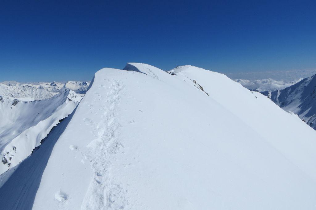Monte Appenna - cresta finale