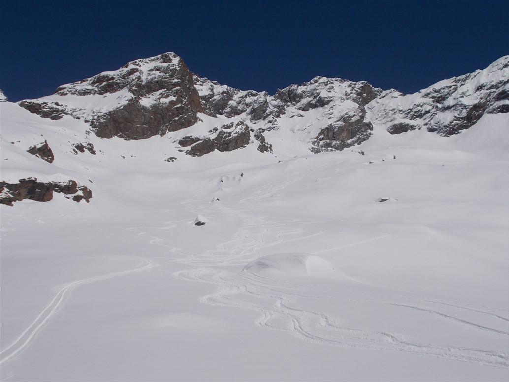 Centrale (Punta) o Calderini da Wold per rifugio Pastore 2015-04-07