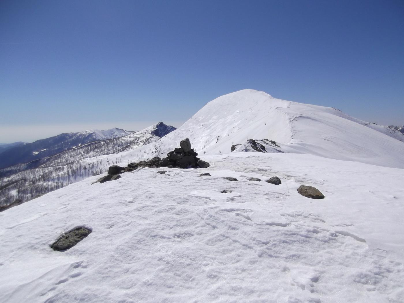 Il Monte Bertrand dalla Cima di Velega