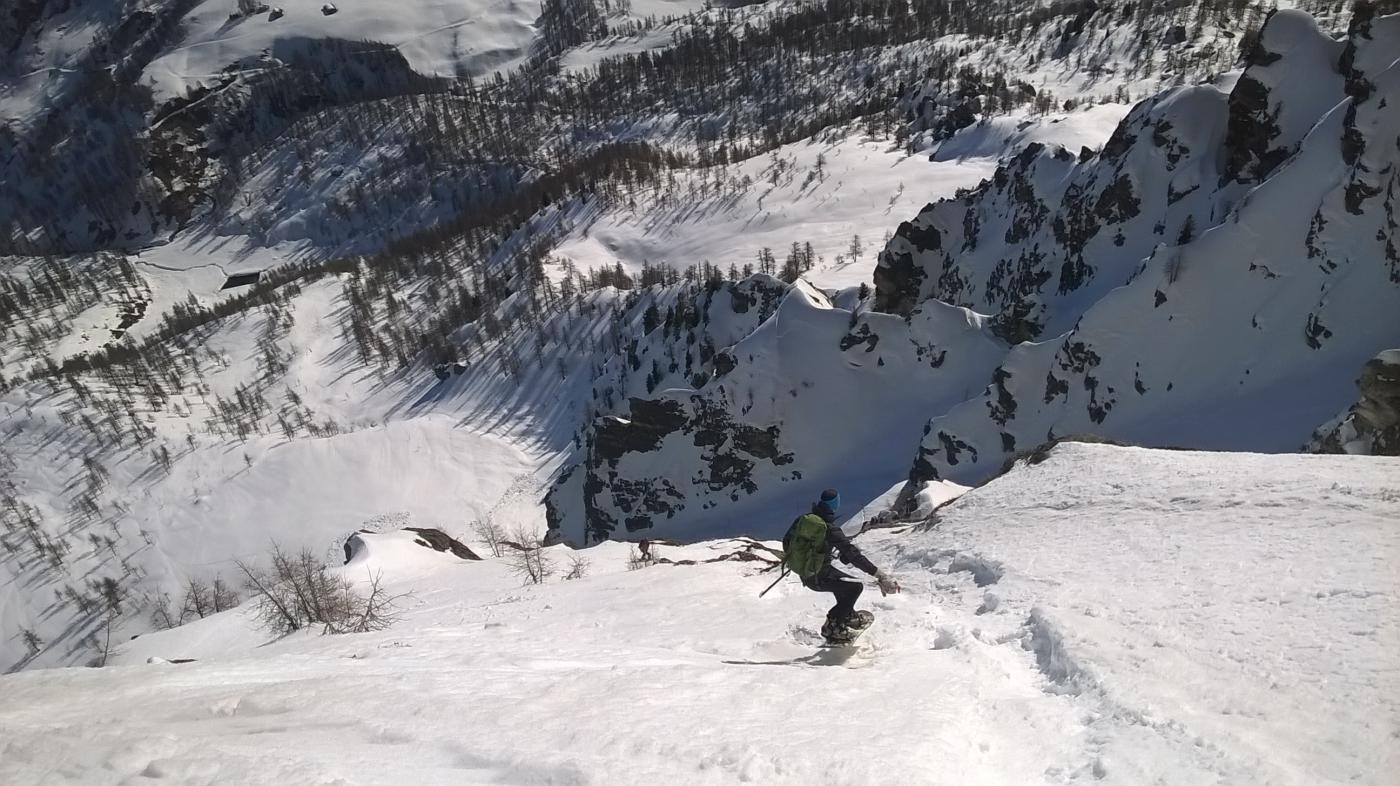 Cengia in bella neve