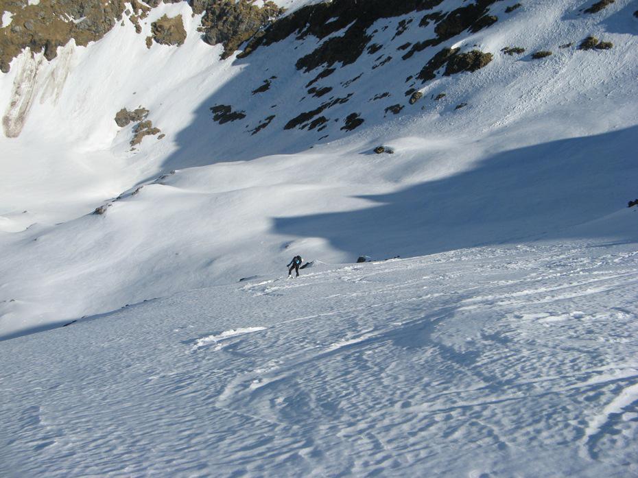 Chierico (Monte) da Foppolo per versante SO 2015-04-09
