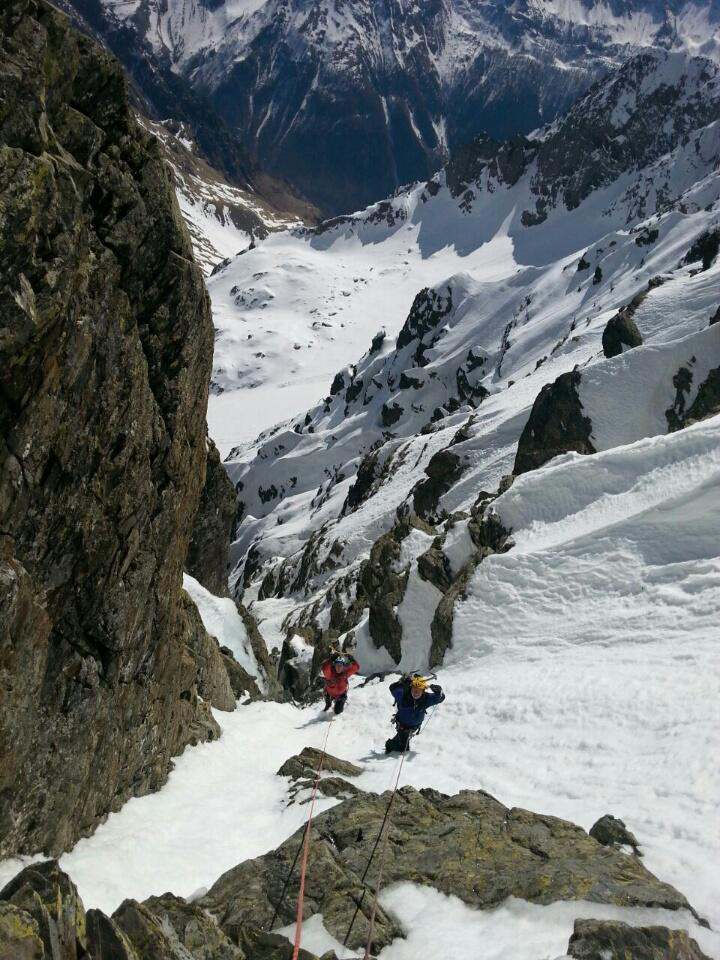 Redorta (Pizzo) Couloir dell'Erede 2015-04-09