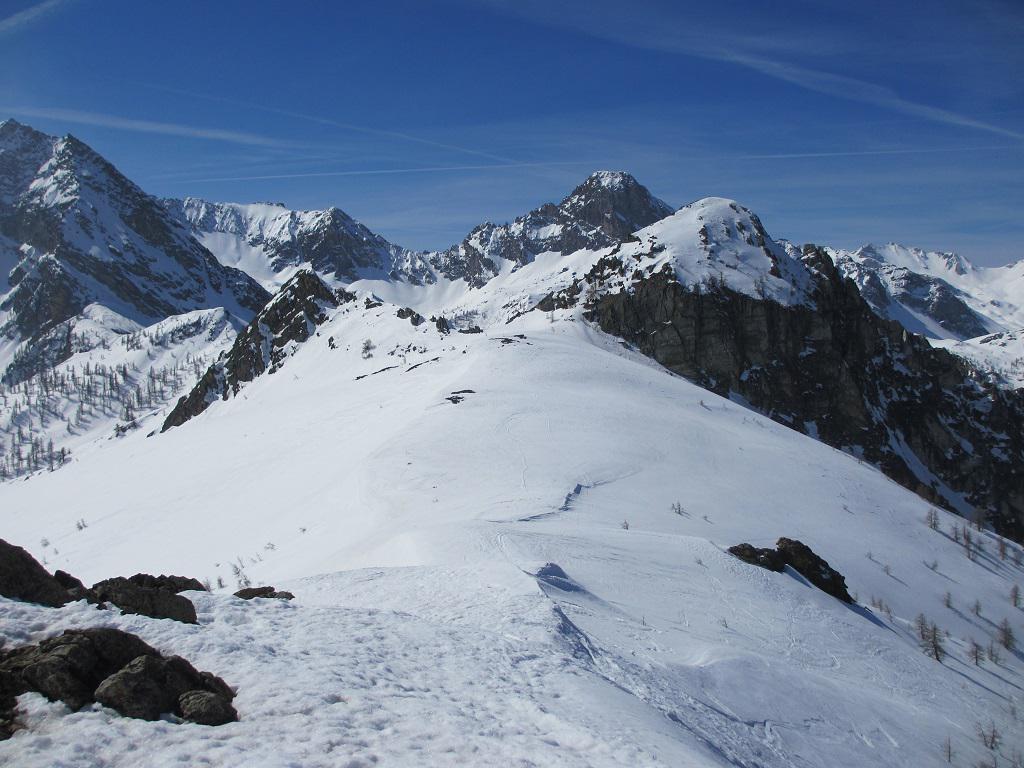 Dalla cima Sud L'Aquila e la Meja