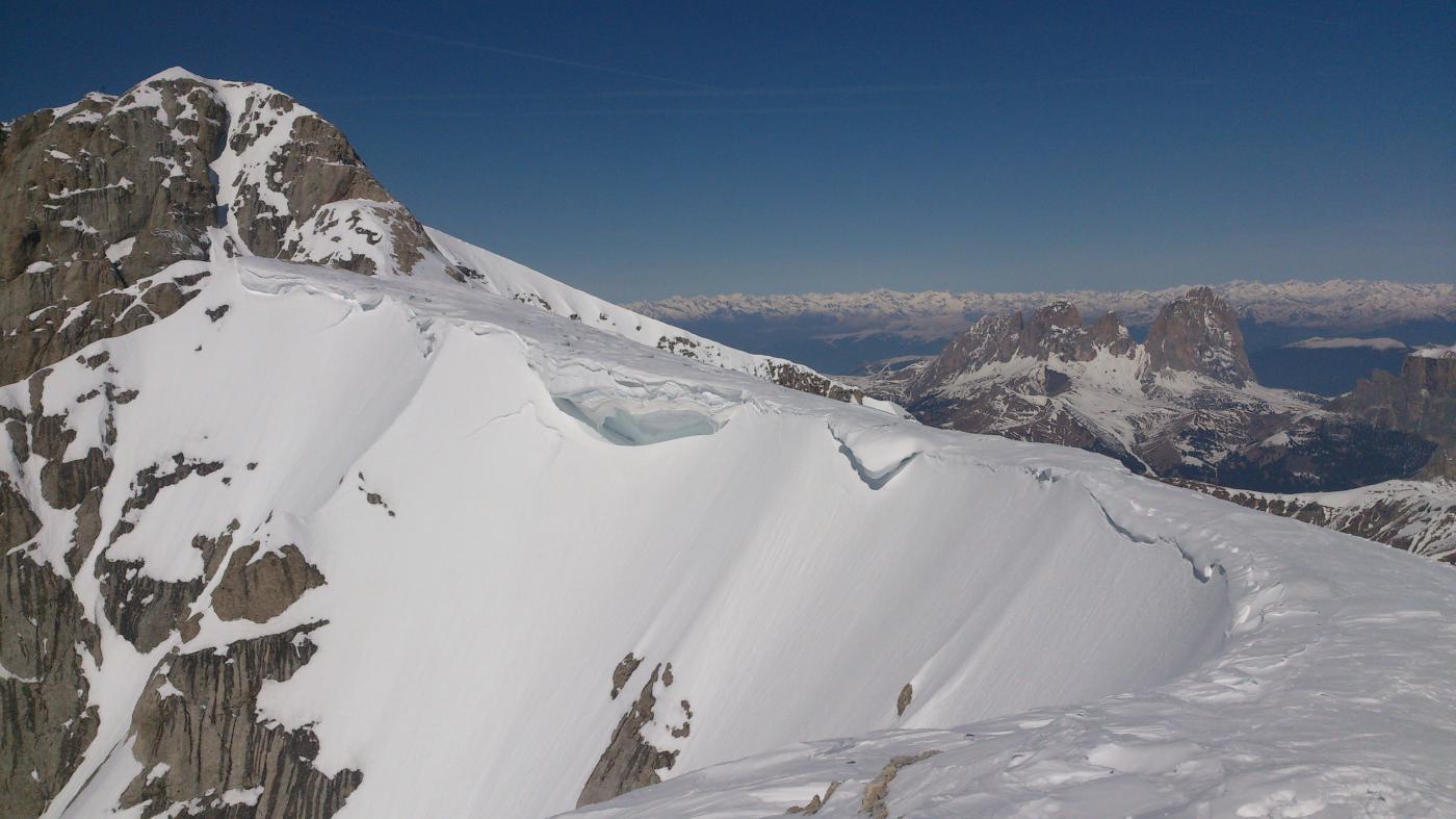 panorama da punta Rocca a punta penia