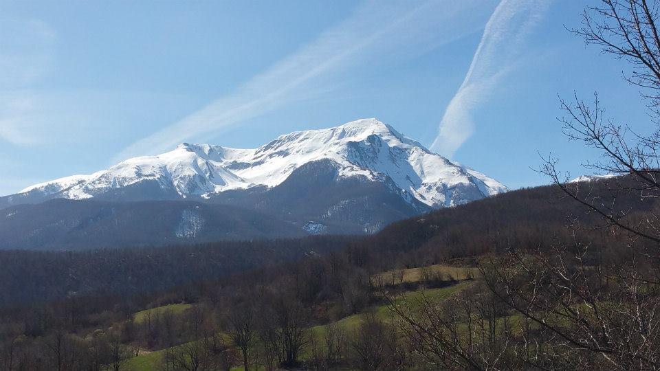 Alpe di Succiso salendo da Aulla