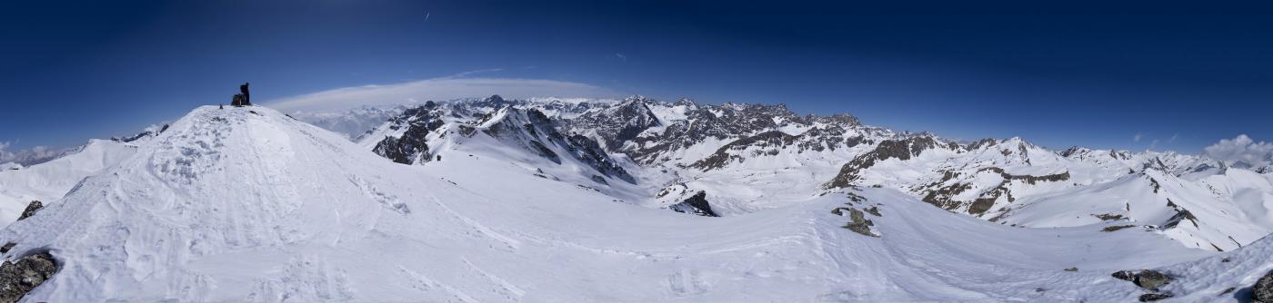 Panorama 360° dalla punta (PhotoMerge)