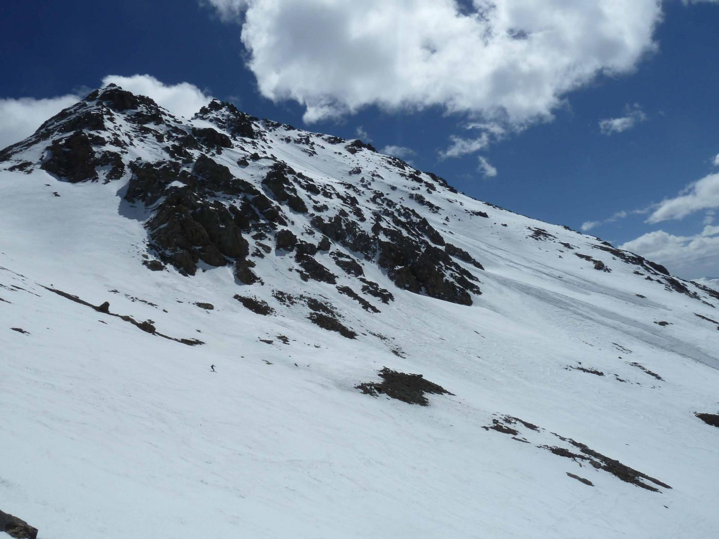 Blancia (Rocca) o Blanca da Fouilluse, versante SO 2015-04-11
